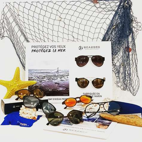 Actualité optique ROUSSILHE POP : Collection solaire Sea2see