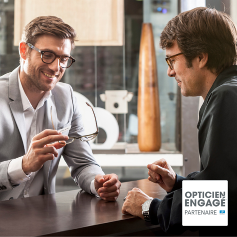 Actualité optique opticien  : Opticien engagé