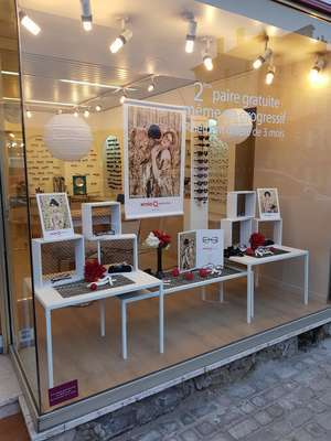 Opticien : OPTIQUE MODERNE, 142 RUE GRANDE, 14290 ORBEC
