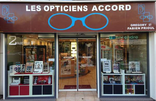 Opticien : LES OPTICIENS ACCORD, 43 AVENUE DES SERGENTS, 34300 CAP D'AGDE