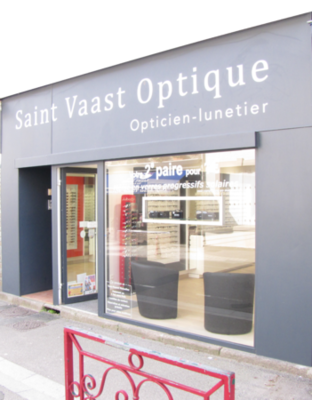Opticien : Saint Vaast Optique, 19B, Rue de Verrüe, 50550 SAINT VAAST LA HOUGUE