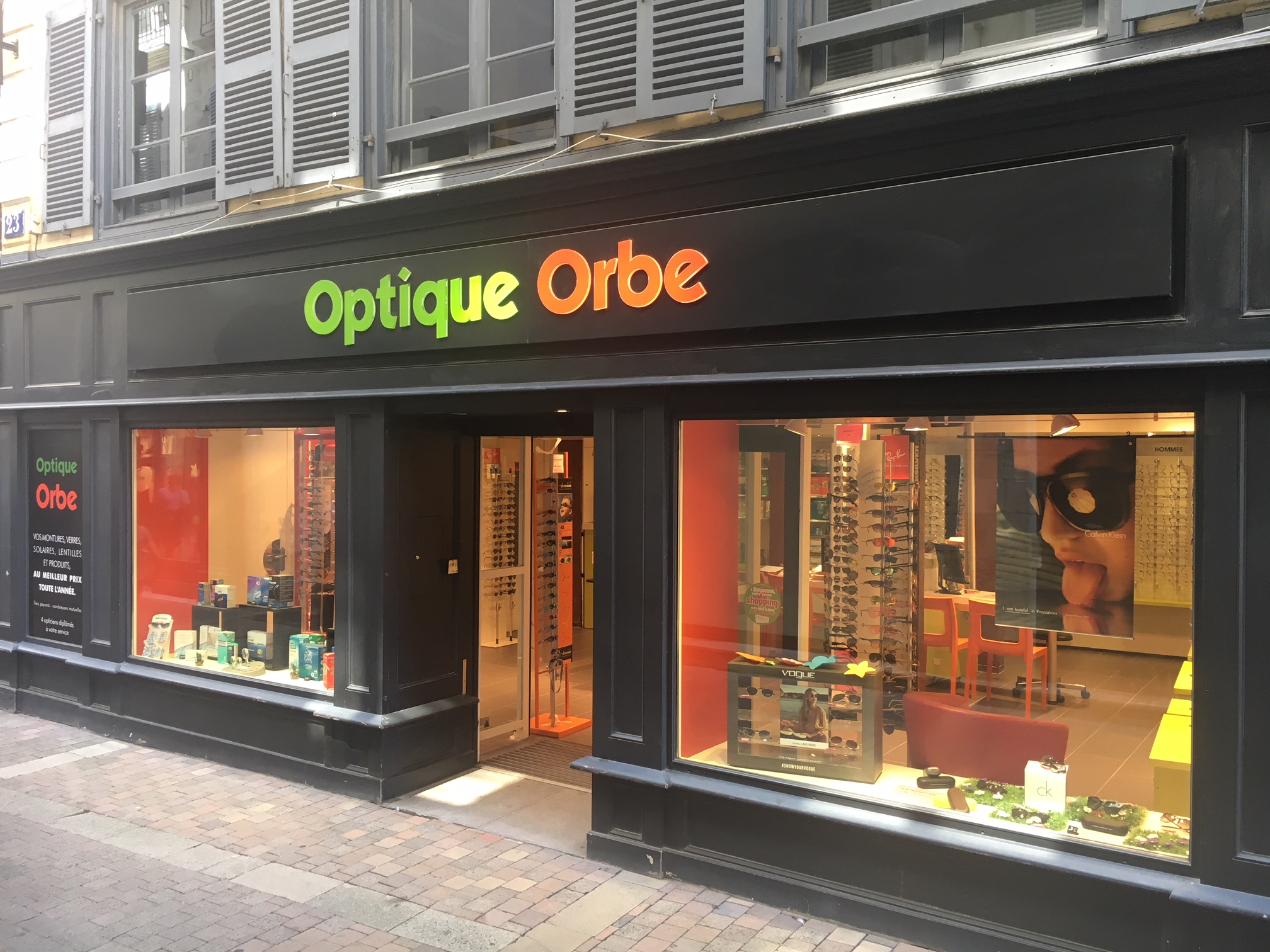 Opticien : OPTIQUE ORBE, 23 Rue Orbe, 64100 BAYONNE