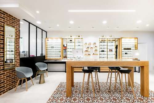 Opticien : OPTIQUE DU PATIO, 106 AV.ALBERT 1ER, 92500 RUEIL MALMAISON