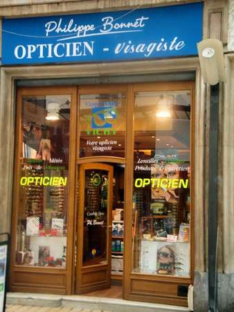 Opticien : CENTRAL OPTIC VICHY, 4 Rue du Président Roosevelt, 03200 VICHY