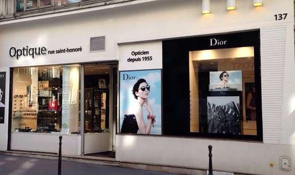 Opticien proposant la marque SAINT LAURENT PARIS : OPTIQUE RUE SAINT HONORE, 137 rue Saint Honoré, 75001 PARIS