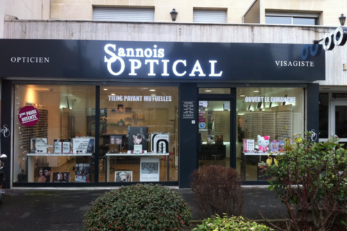 Opticien : SANNOIS OPTICAL, 31 BOULEVARD CHARLES DE GAULLE, 95110 SANNOIS