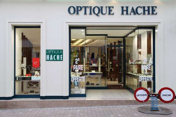 Opticien : OPTIQUE HACHE, 46 GRANDE RUE, 02400 CHATEAU THIERRY