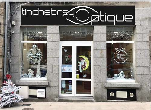 Opticien : TINCHEBRAY OPTIQUE, 36 GRANDE RUE, 61800 TINCHEBRAY