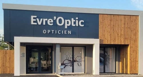 Opticien : EVRE'OPTIC,  Avenue de l'Evre, 49110 SAINT PIERRE MONTLIMART
