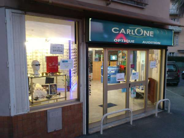Opticien : CARLONE OPTIQUE AUDITION, 8 BOULEVARD CARLONE, 06000 NICE