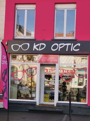 Opticien : KD OPTIC, 5 GRAND'PLACE, 62550 PERNES