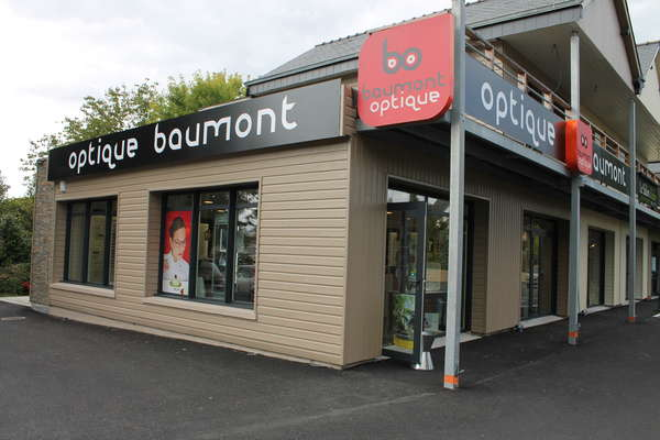 Opticien : OPTIQUE BAUMONT, 369 ROUTE DE PONT L'ABBE, 29120 COMBRIT