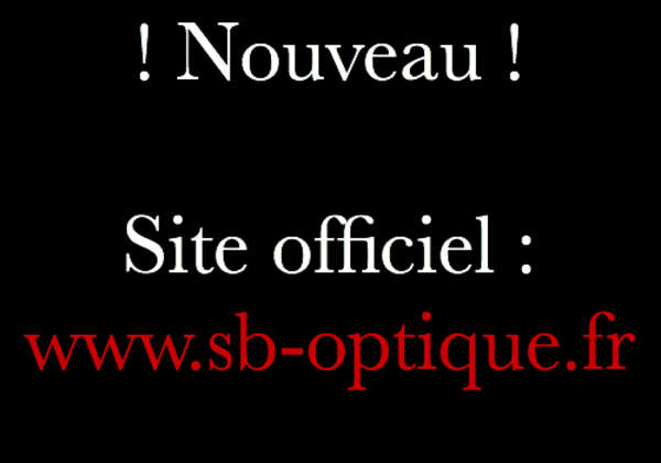 Opticien : SB OPTIQUE, 1 BOULEVARD DE L'EST, 93340 LE RAINCY