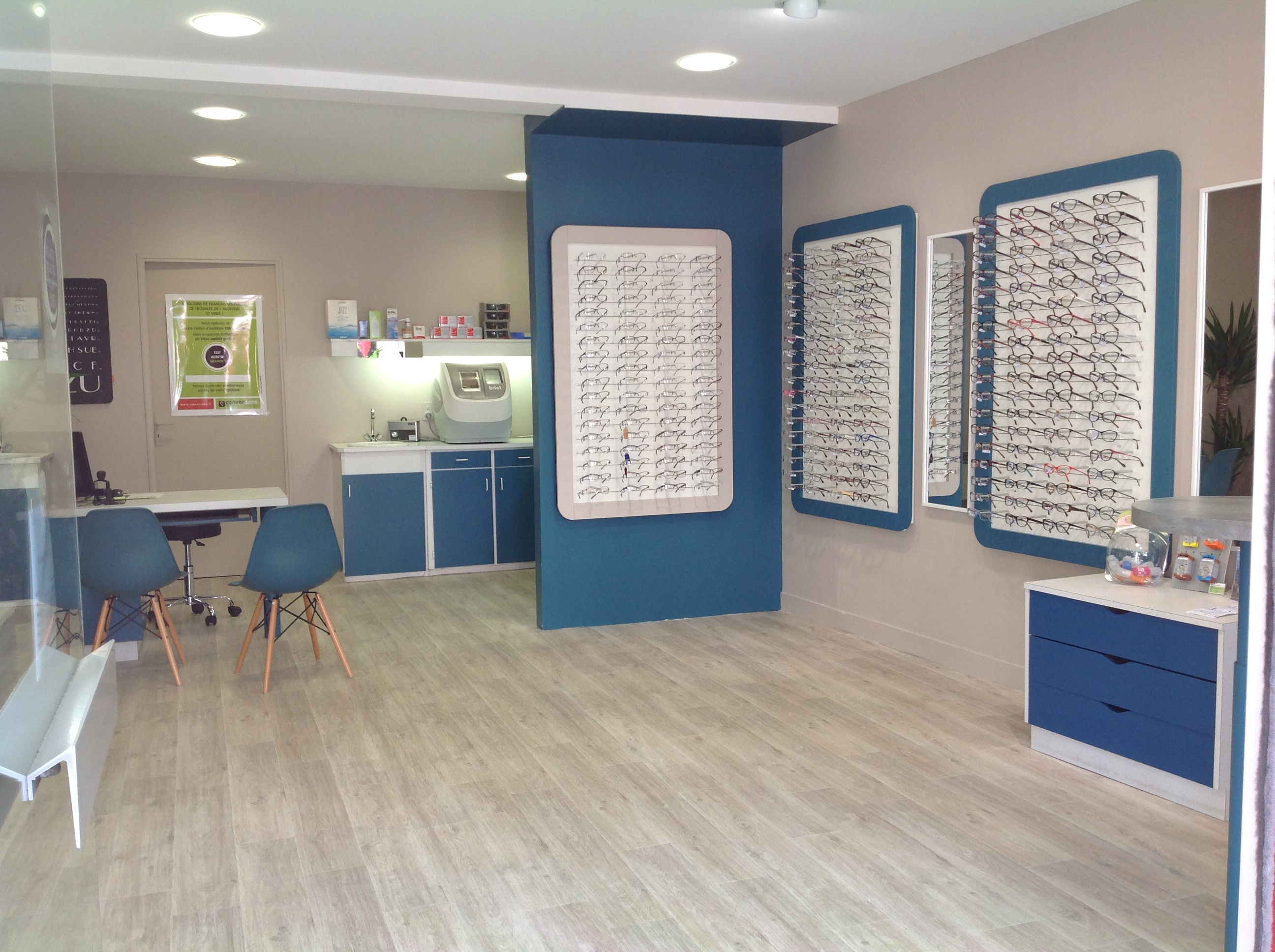 Opticien proposant la marque MAD IN ITALY : ALLONNES OPTIC, 61 rue PIERRE CURIE, 72700 Allonnes