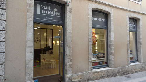 Opticien : L'ART DU LUNETIER, 24 rue de la Pie, 28000 Chartres