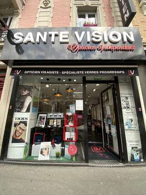 Opticien proposant la marque NEW YORK YANKEES : SANTE VISION, 171 bis Rue Paul Vaillant Couturier, 94140 ALFORTVILLE