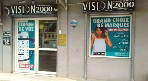 Opticien : VISION 2000,  ROUTE DES BADAMIERS, 97615 DZAOUDZI MAYOTTE