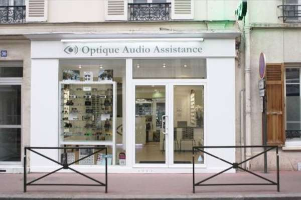 Opticien : OPTIQUE AUDIO ASSISTANCE, 36 RUE JULES GUESDE, 92300 LEVALLOIS PERRET