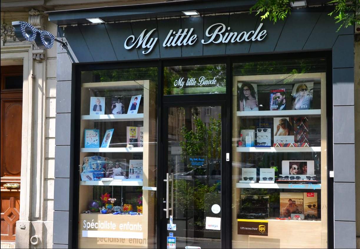 Logo opticien indépendant my little binocle 75005 PARIS