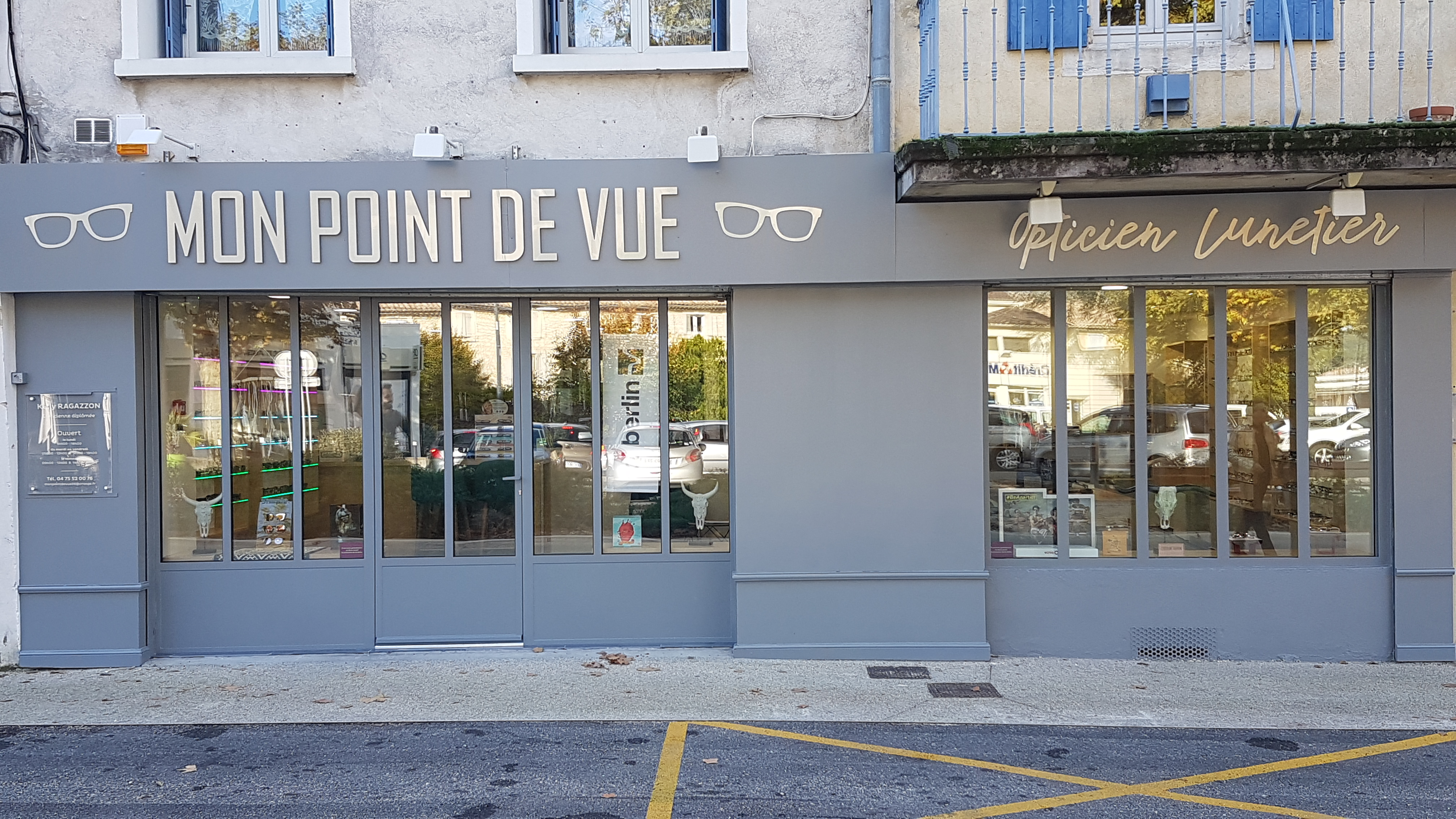 Opticien : MON POINT DE VUE, 12 PLACE DE LA LIBERATION, 26130 ST PAUL 3 CHATEAUX