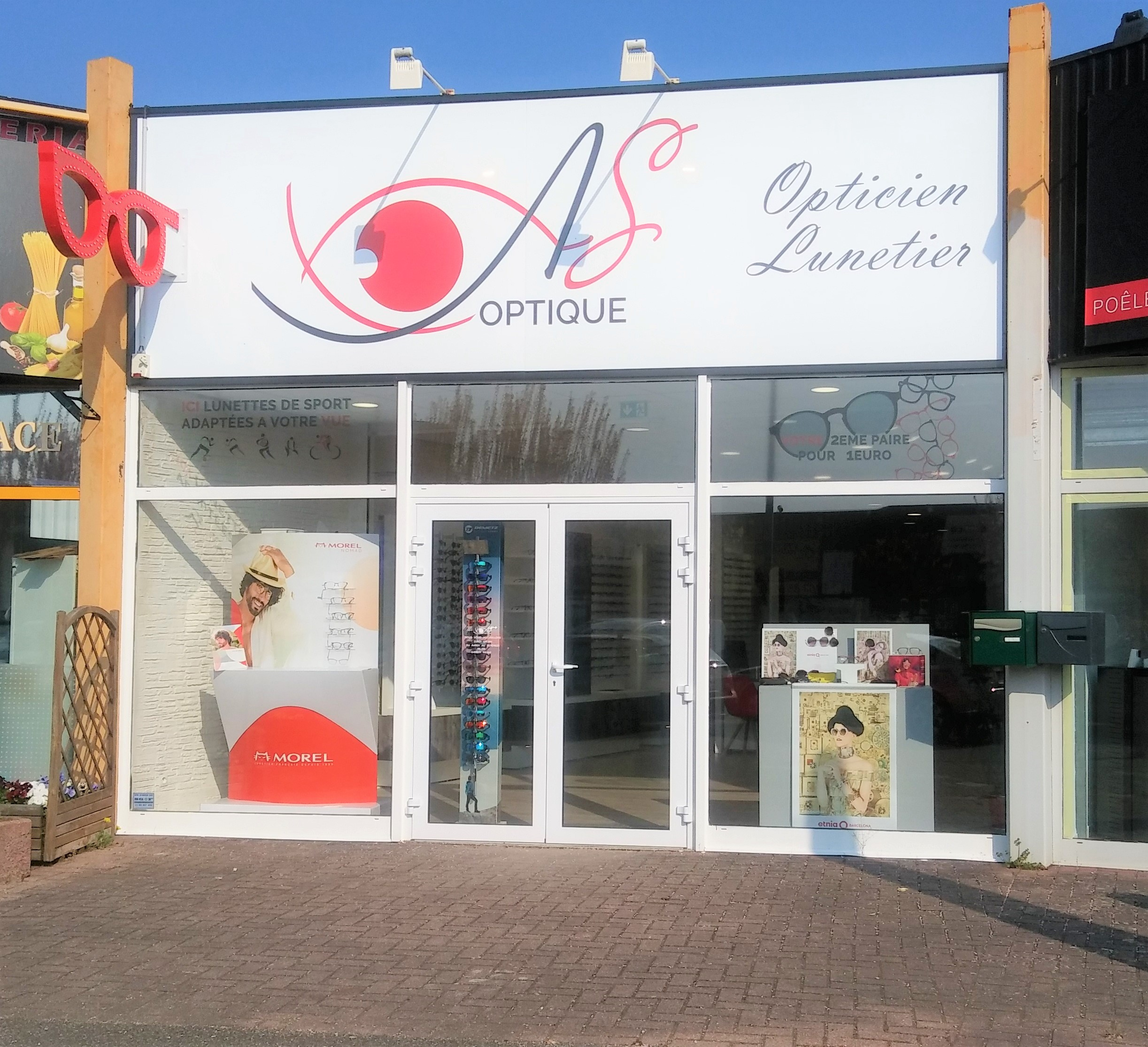 Opticien : AS OPTIQUE, 8 RUE HERMES, 67190 MUTZIG