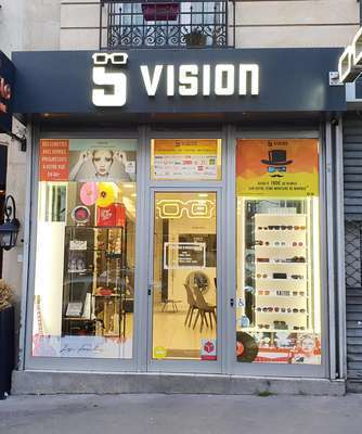 Visuel magasin optique S VISION à PARIS (75011)