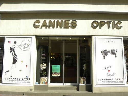 Opticien : CANNES OPTIC CONTACT, 12 Rue du Maréchal Foch, 06400 CANNES