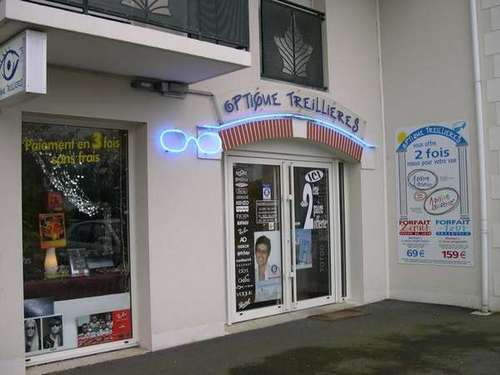 Opticien : OPTIQUE TREILLIERES, 64 Rue de la Mairie, 44119 TREILLIERES