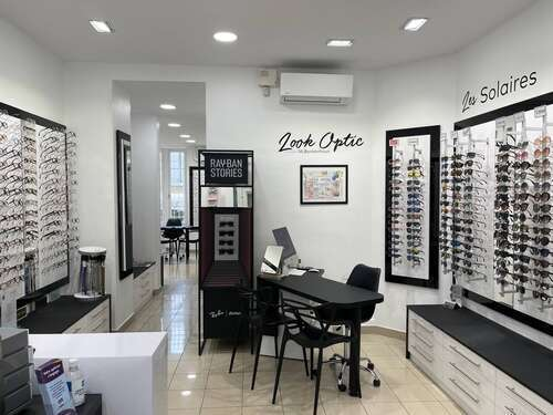 Opticien : LOOK OPTIC, 11 Boulevard Joseph Garnier, 06000 NICE