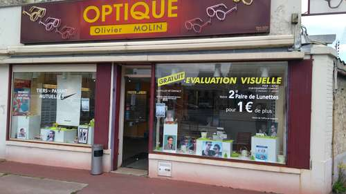 Opticien : OPTIQUE OLIVIER MOLIN, 2 Place de la Résistance, 51170 FISMES