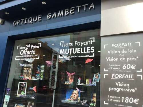 Opticien : OPTIQUE GAMBETTA, 95 Rue Gambetta, 51100 REIMS
