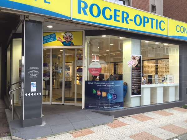 Opticien : ROGER-OPTIC, 48 Bis Rue poincaré, 59140 DUNKERQUE