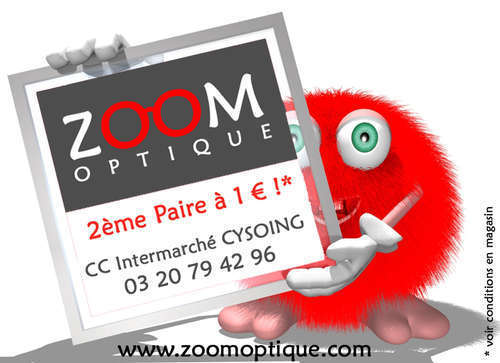 Magasin opticien indépendant ZOOM OPTIQUE Cysoing 59830 CYSOING