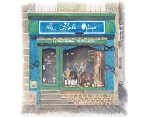 Opticien : LA BELLE OPTIQUE, 19 Place Saint Vigor, 61430 ATHIS DE L'ORNE