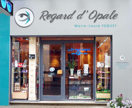 Opticien : REGARD D OPALE, 29 rue Carnot, 62930 WIMEREUX