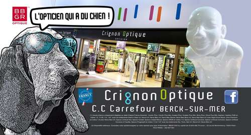Opticien : CRIGNON OPTIQUE,  Galerie marchande CARREFOUR, 62600 BERCK