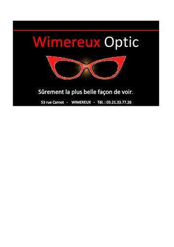 Magasin opticien indépendant Wimereux Optic 62930 WIMEREUX