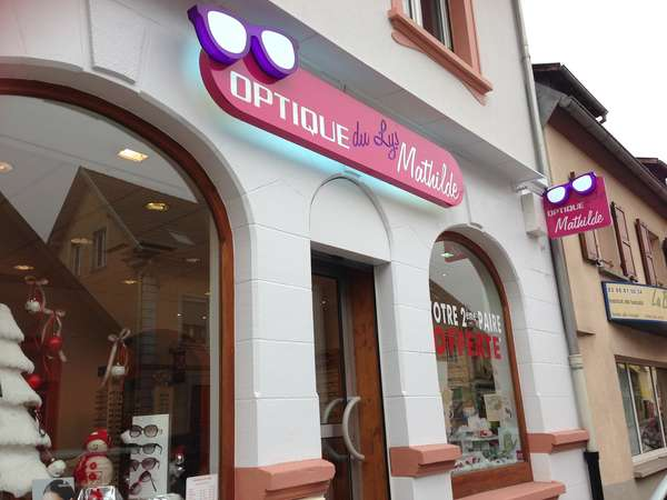 Opticien : OPTIQUE DU LYS MATHILDE, 3 Route de Bischwiller, 67800 BISCHHEIM