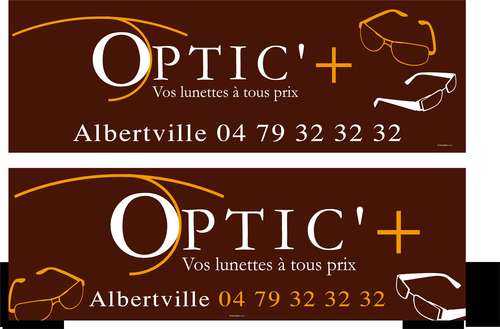 Magasin opticien indépendant OPTIC'+ 73200 ALBERTVILLE