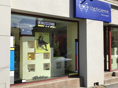 Opticien : L'opticienne Karine Coignart, 10 Rue Chervin , 08400 VOUZIERS