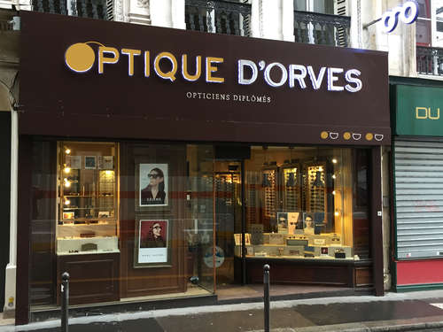 Opticien : Optique D'Orves, 8 Rue Blanche, 75009 PARIS