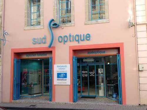Opticien : SUD OPTIQUE, 6 Avenue Wilson, 11200 LEZIGNAN