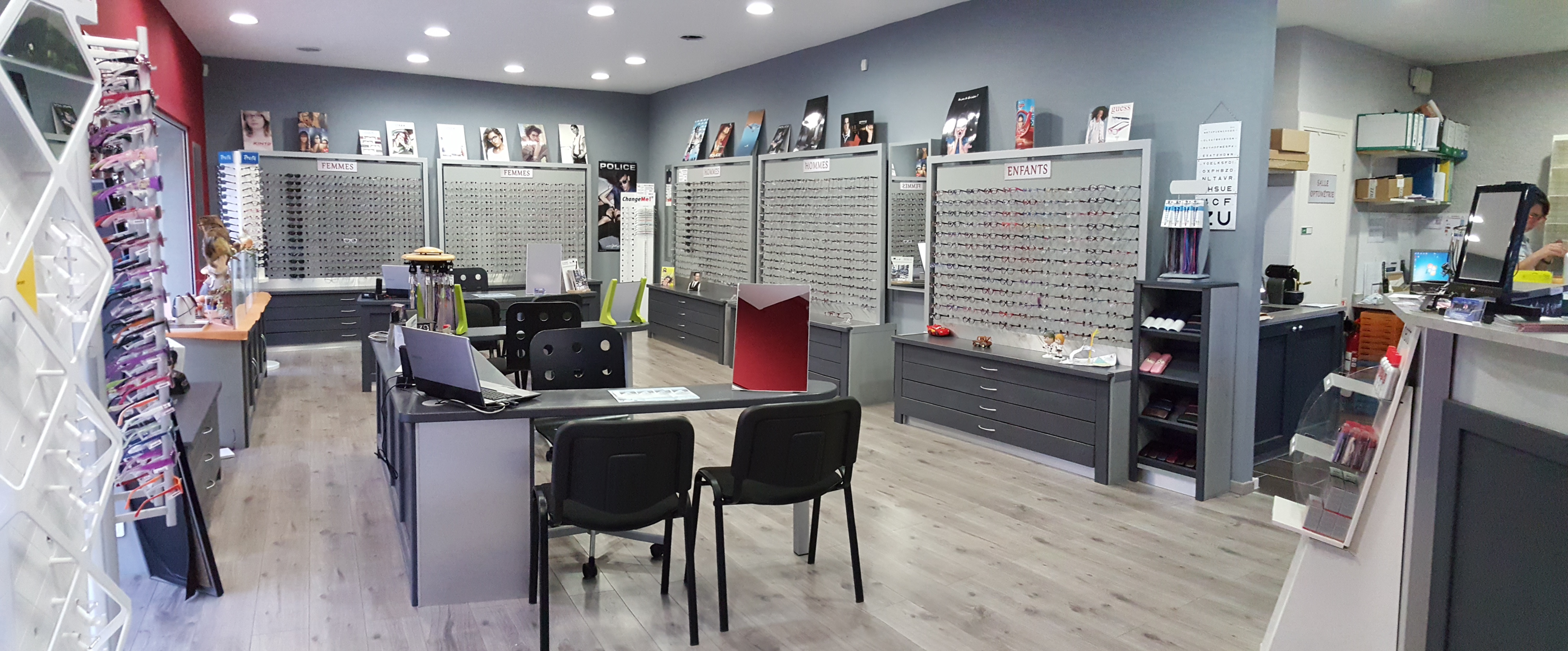 Opticien : LAUR'OPTIC, 26, boulevard Yvan Pelissier, 11590 CUXAC D'AUDE