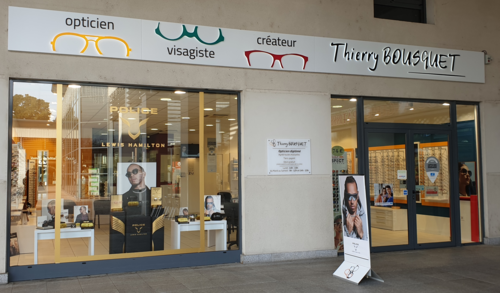 Opticien : OPTIQUE THIERRY BOUSQUET, 1 AVENUE GEORGES POMPIDOU, 81100 CASTRES