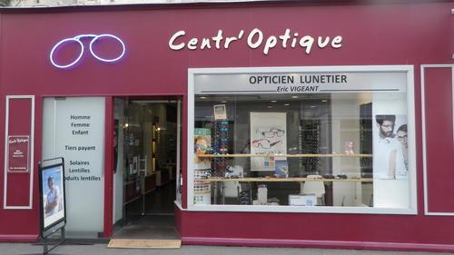 Opticien   Centr optique E.Vigeant, 23 rue Blossac, 85200 FONTENAY LE edf2b76d0406