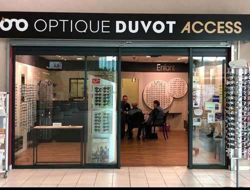 Opticien : OPTIQUE DUVOT ACCESS, 5 Avenue du Cerisier Noir, 86530 NAINTRE