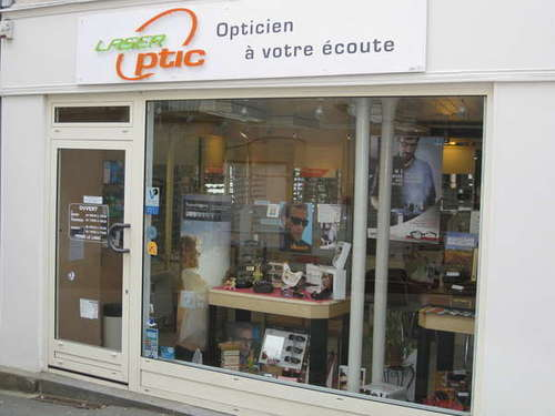 Opticien : LASER OPTIC, 9 Grande Rue, 87210 LE DORAT