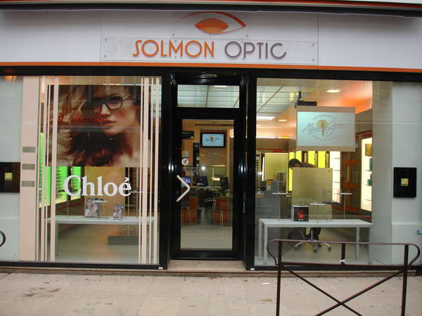 Opticien : SOLMON OPTIC, 33 Rue du temple, 89000 AUXERRE