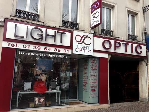 Opticien : LIGHT OPTIC, 7 PLACE ROGER LEVANNEUR, 95160 MONTMORENCY