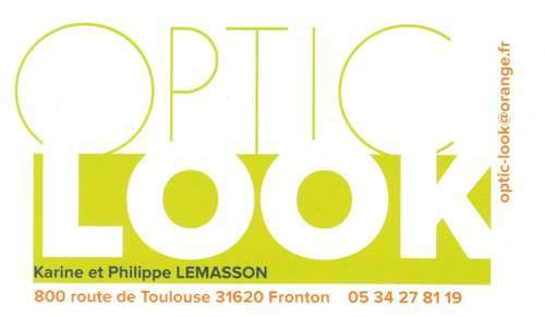 Magasin opticien indépendant OPTIC LOOK 31620 Fronton
